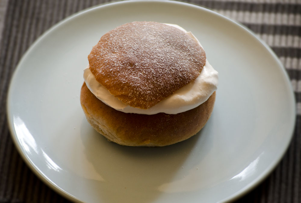 Semla vegan recept